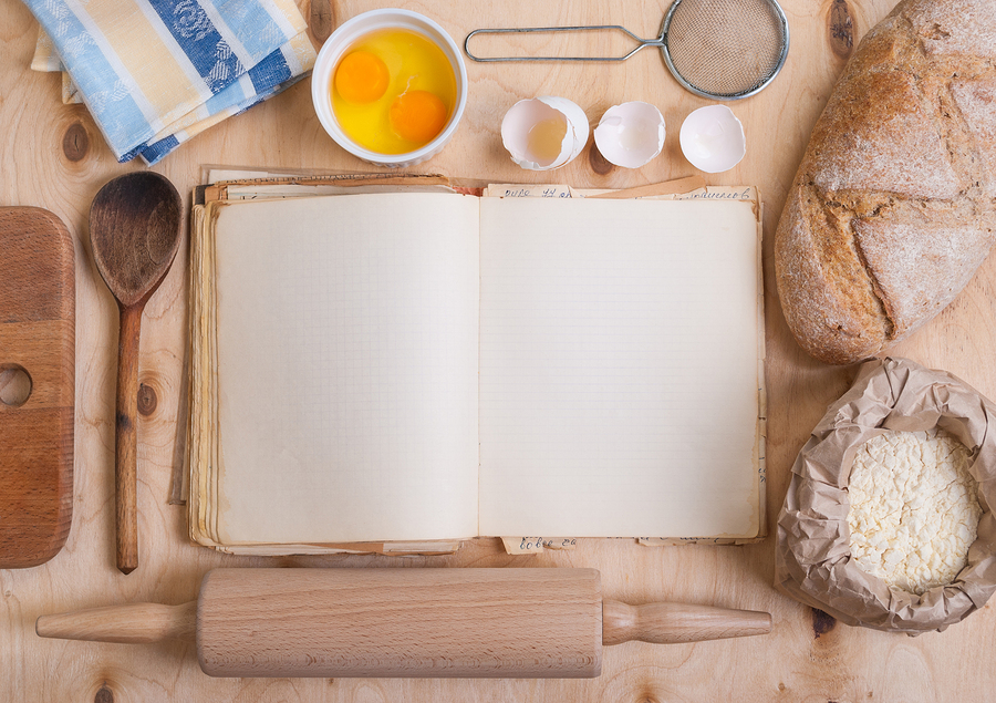 how to put together your own recipe book