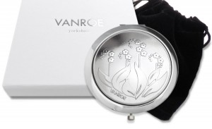 vanroe forget me not compact mirror gift