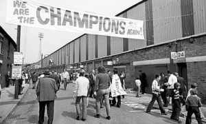 26 April – Derby County wins the Football League First Division title for the second time in four seasons.