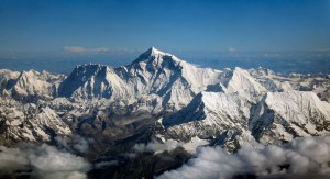 Climbers Dougal Haston and Doug Scott are the first British climbers to summit Mount Everest.