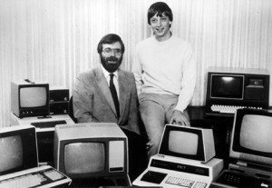 Bill Gates co-founds Microsoft at the age of 19.
