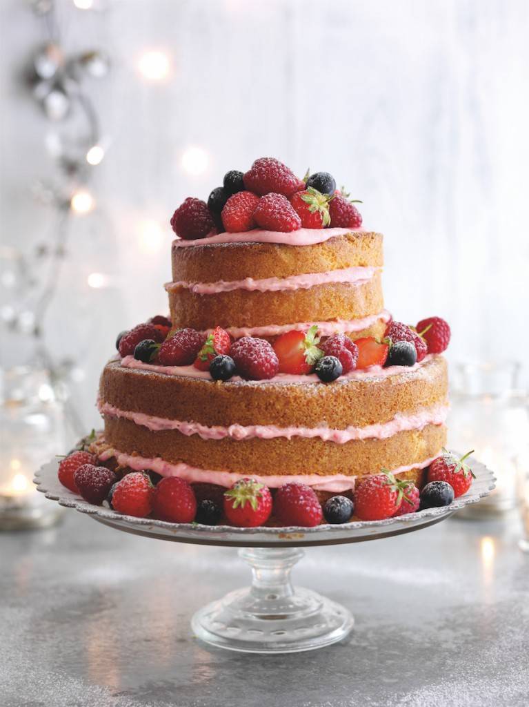 naked berry cake 1