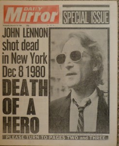 8 December - John Lennon is assassinated outside his New York apartment. Thousands attend a 10-minute vigil in Liverpool for the singer on 14 December.