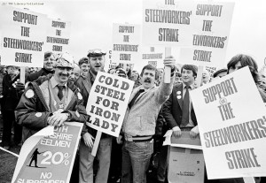 2 January – Workers at British Steel go on a nationwide strike over pay, a dispute that continues until April. In February, Margaret Thatcher announces that state benefit to strikers will be halved.