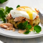 Warm-watercress-potato-cake-with-poached-egg-and-trout