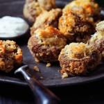 Crunchy-Crumbed-Mushrooms