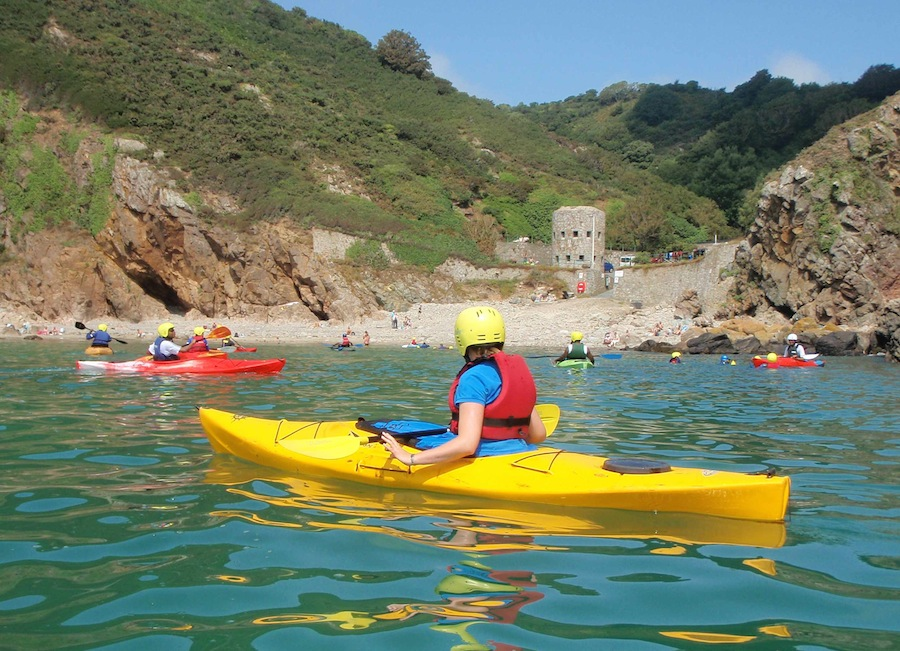 Kayaking at Petit Bot