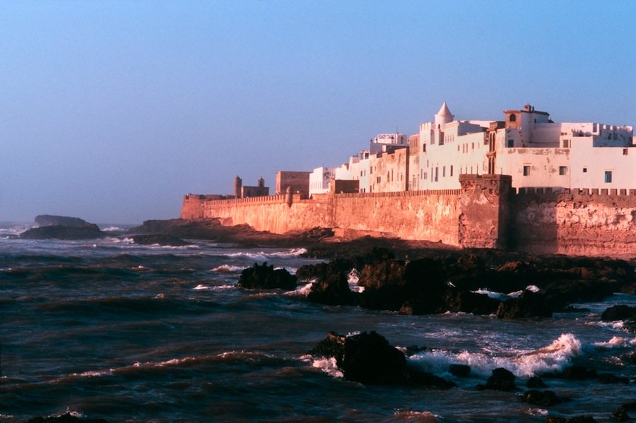 Peaceful port town of Essaouira