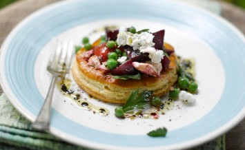 pea,-beetroot,-roasted-red-pepper-and-capricorn-somerset-goats-cheese-tart---www.lovebeetroot.co.uk-copy