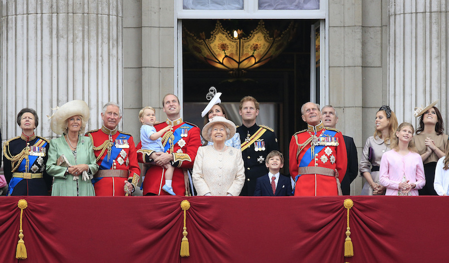 Every year we celebrate the official birthday of the Queen with the Trooping of the Colour in June. The annual event on the Horse Guards Parade is a chance for the Queen to carry out an inspection of the troops from the Household Division and is beloved for its pageantry.