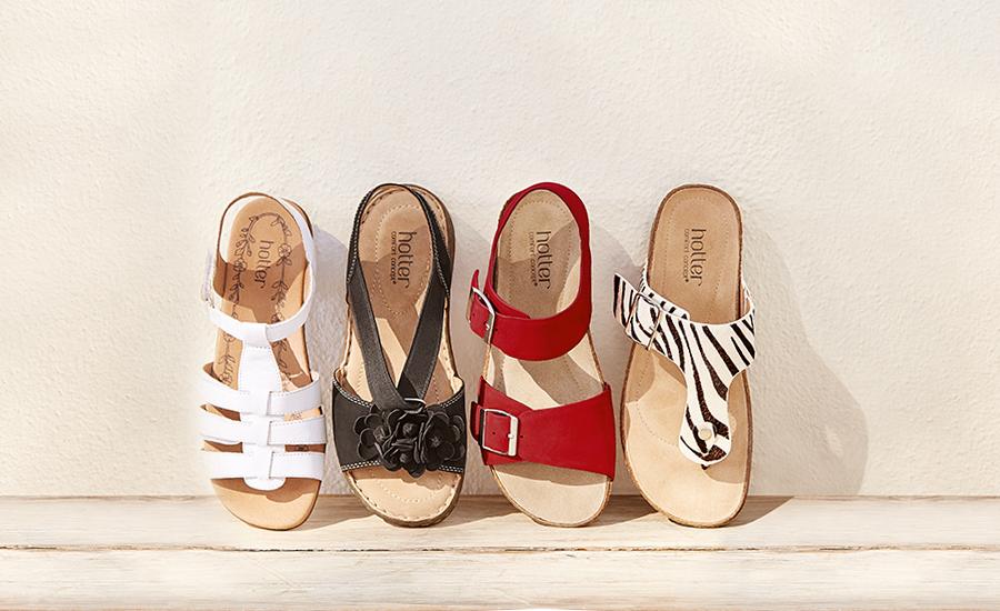 Sandal range