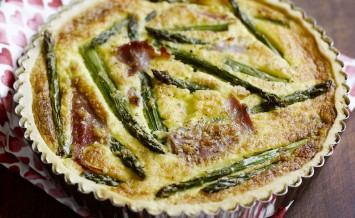 smoked ham and asparagus tart copy