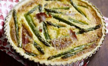 smoked ham and asparagus tart copy