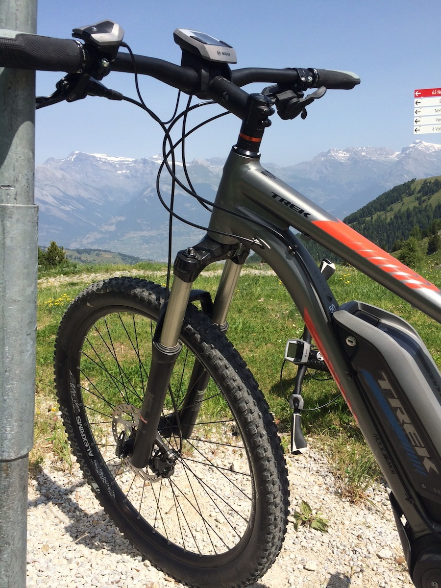 Electric bike in Nendaz