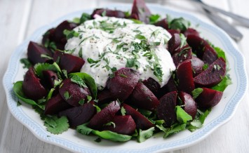 Moroccan-beetroot-&-herb-salad-with-yoghurt-dressing