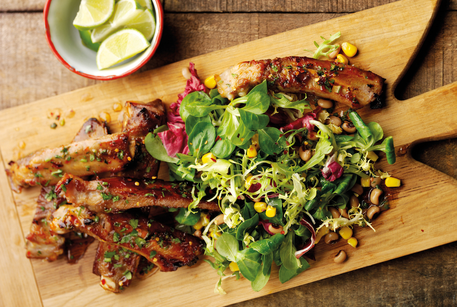Brazilian Rib & Black Eyed Bean Salad