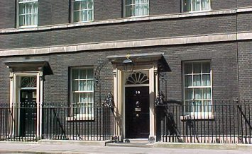 the prime minister for england lives here   ** Note: Some blurriness & graininess, best at smaller sizes