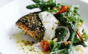 morrocan-crusted-salmon-and-asparagus-salad