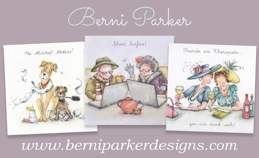 Silvercard offer - logo Berni Parker Designs