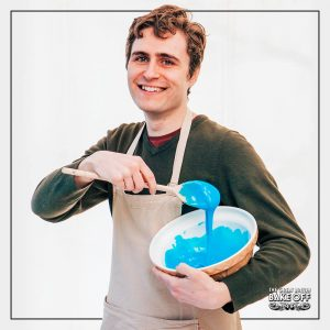 26-year old Tom lives in East London and is passionate about cooking and baking. He isn't shy when it comes to flavours - he loves to make his own cheeses and salami, for example - and never misses an opportunity to surprise with unexpected ingredients in his bakes.