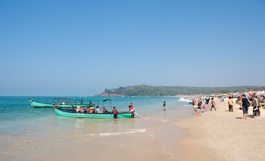 Baga Beach. © Ian Dagnall | Alamy