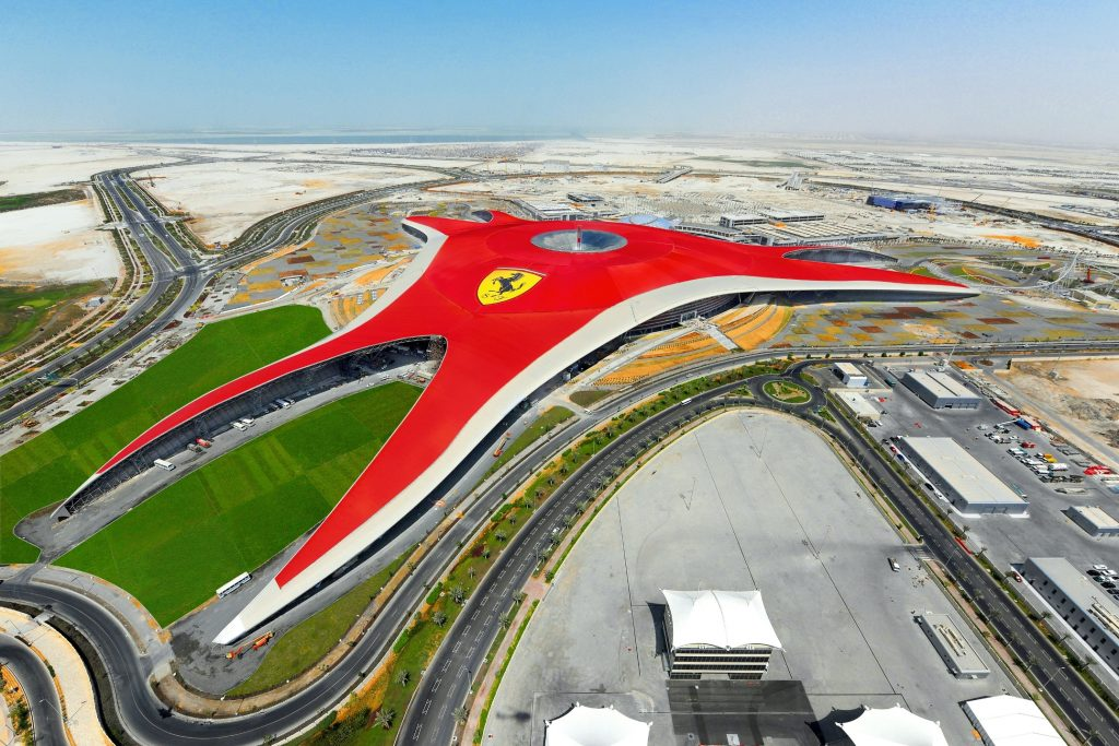 Ferrari World Abu Dhabi, Yas Island