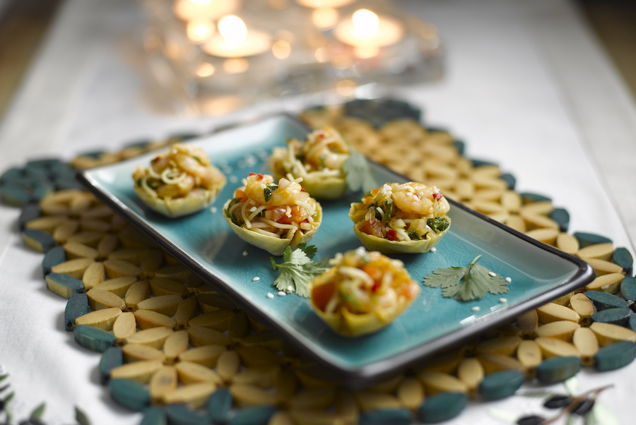 Easy festive canap s silversurfers for How to make canape shells at home