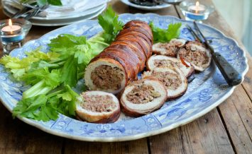 roast-turkey-fillet-with-fenland-celery,-walnut-and-sausage-stuffing