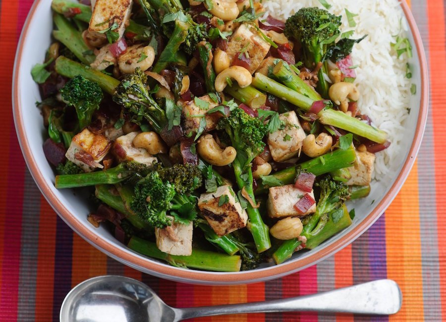 Levi Roots' Tenderstem, Cashew And Tofu Stir Fry Recipe ...