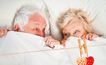 Over 50s having sex