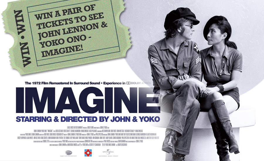 Win a pair of tickets to see John Lennon & Yoko Ono - Imagine ...