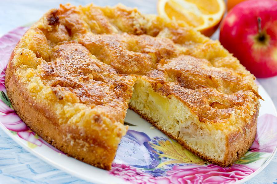 Gluten Free Yummy Dorset Apple Cake Silversurfers