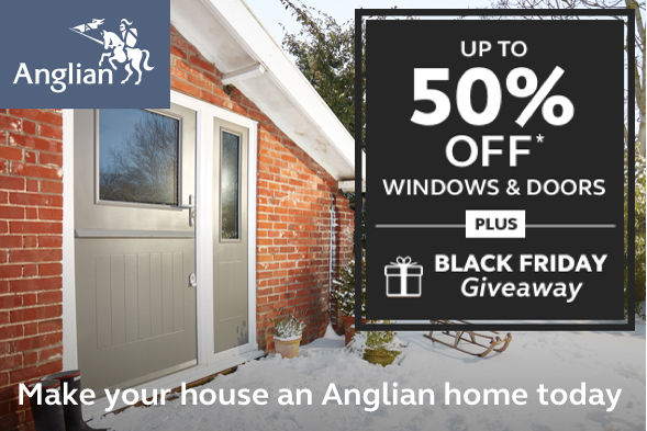 Anglian Home Improvements Black Friday Giveaway Silversurfers