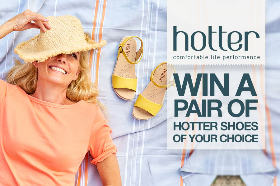 0a879883aa248 Win a pair of shoes of your choice from Hotter! - Silversurfers