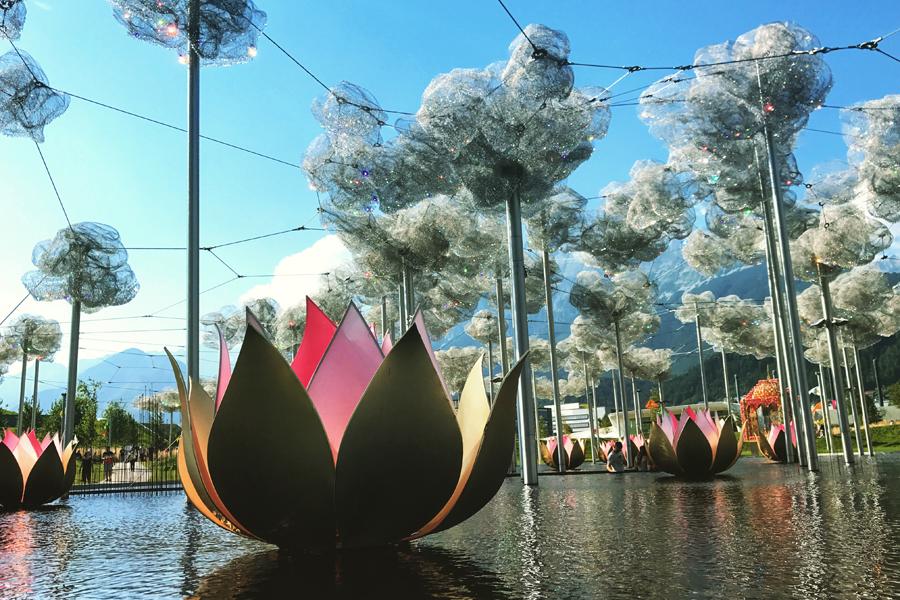 Wattens, Austria - Swarovski Crystal World