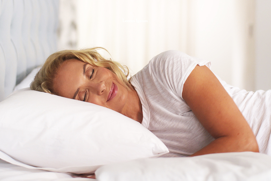 The Gx Suspension Pillow keeps its shape all night long